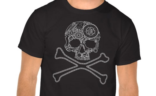Bycicle pirate t-shirt