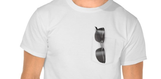 Summer t-shirt with glasses