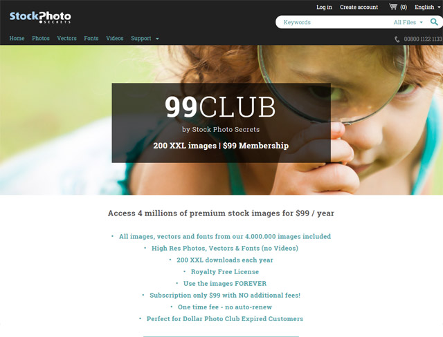 99club - replacement for Dollar Photo Club